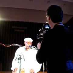 Chris Blokhuis filming Vinx
