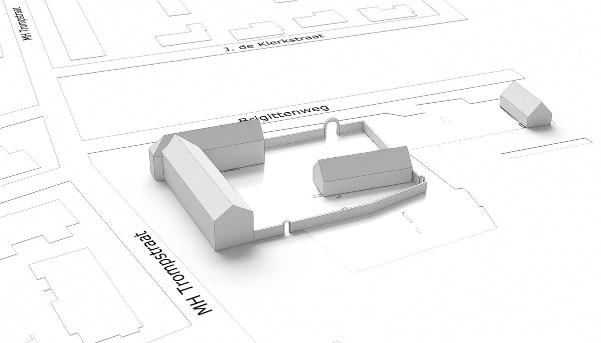 Reconstructie van het Cellenbroedersklooster