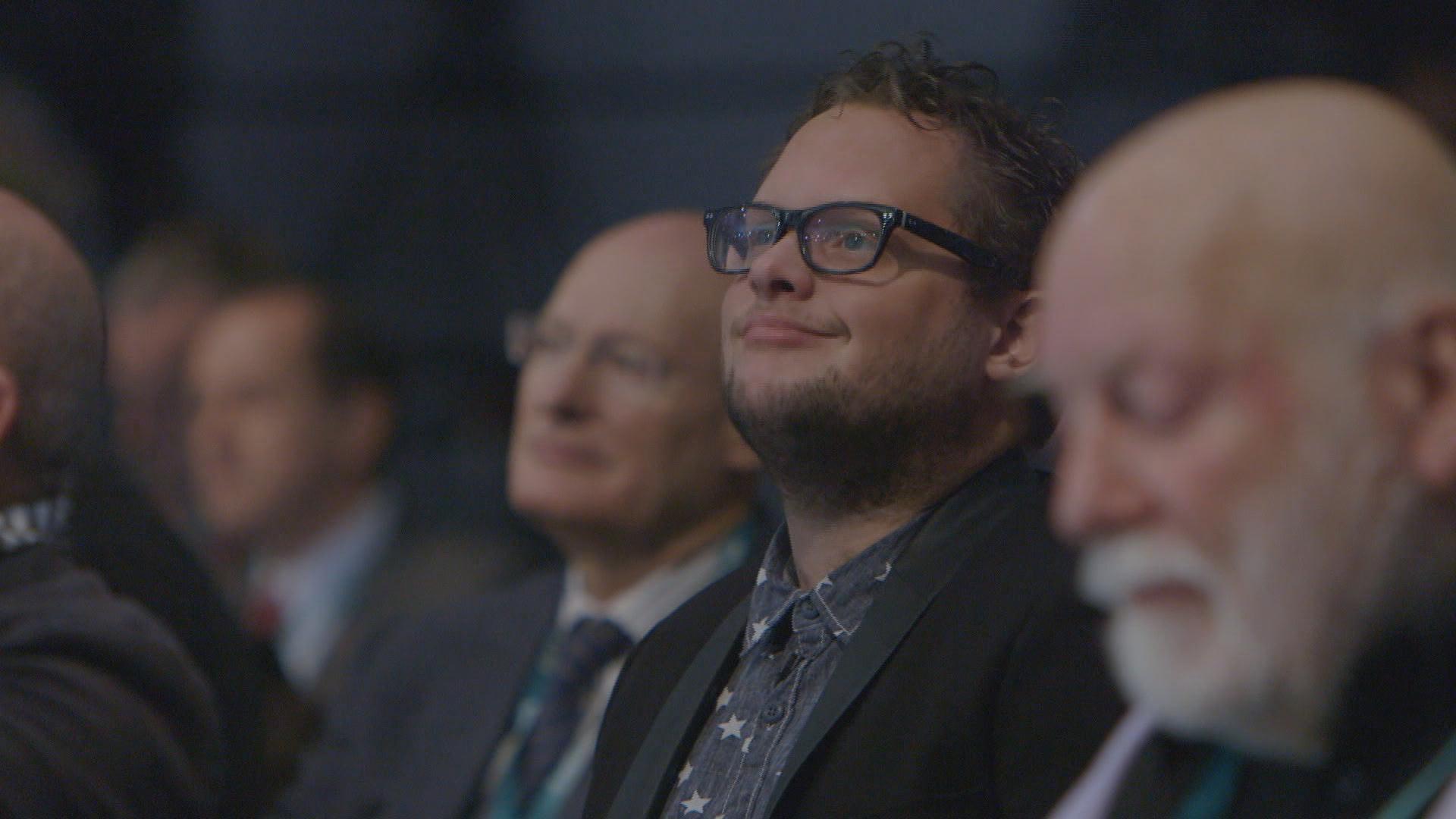 Diederik Jekel aanwezig op het vluchtleidingscentrum van de ESA